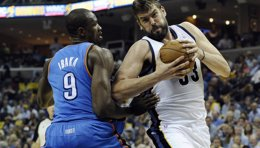 Foto: Los Grizzlies vuelven a batir a los Thunder en una prórroga (USA TODAY SPORTS / REUTERS)