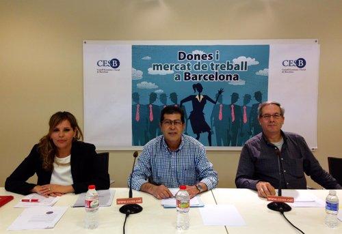 Presentación del estudio 'Mujeres y mercado de trabajo en Barcelona'