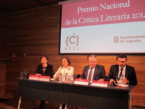 Premio Nacional de la Crítica 2014