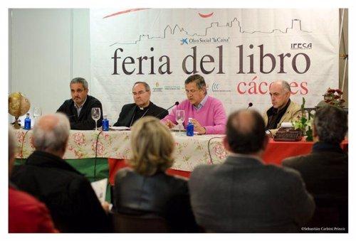 Presentación del libro en Cáceres