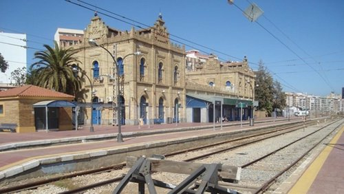 Estación de tren de Huelva capital.