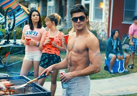 Zac Efron en Neighbors