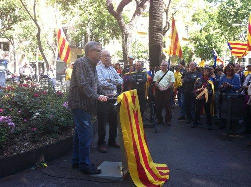 Jaume Marfany (ANC) en los actos del 1 de Mayo