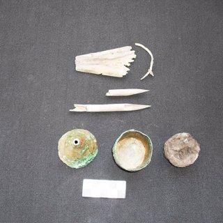 Utensilios de trabajo de un escriba hallados en su tumba