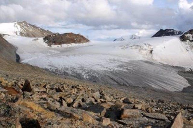 Glaciar en Tibet