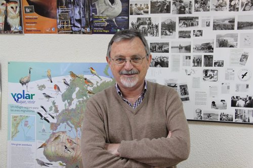 El presidente de SEO/BIRDLIFE, Eduardo de Juana