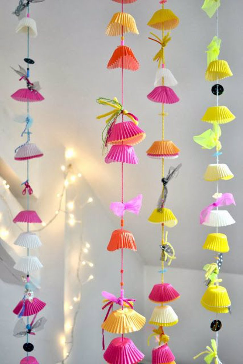 20 ideas diy para reciclar el papel de los cupcakes for Diy decoracion cumpleanos