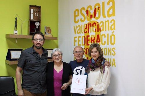 Albiol (EU) se reúne con Escola Valenciana