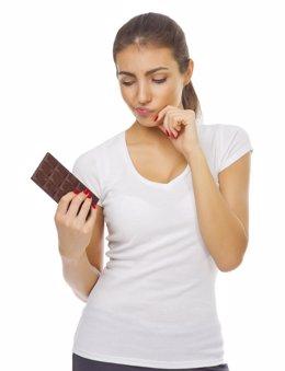 El consumo de chocolate y el acné