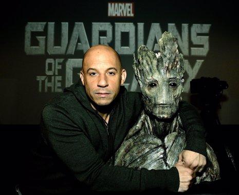 """Vin Diesel: """"Guardianes de Galaxia me ayudó a sanar tras la muerte de"""