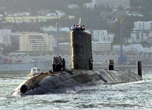 Submarino nuclear Tireless