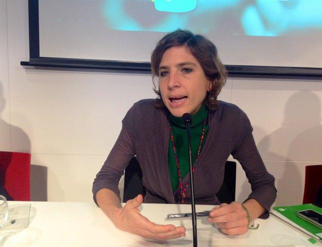 La portavoz de SOS Racisme, Alba Cuevas