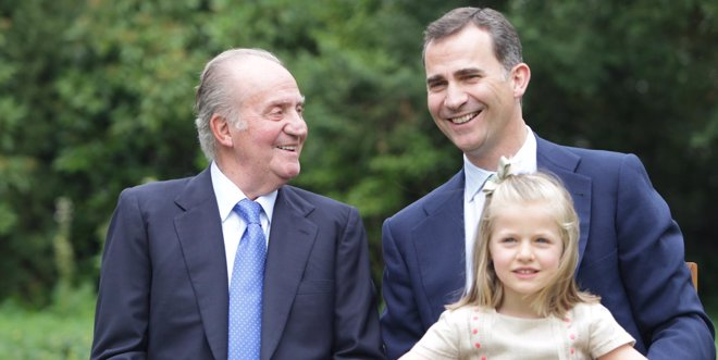 Foto: El Rey tomó la decisión de abdicar en enero al cumplir 76 años y después lo comunicó a Rajoy y Rubalcaba (CASA DE SU MAJESTAD EL REY)