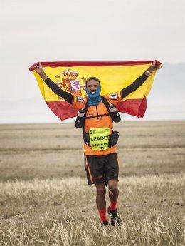 Chema Martínez, ganador del Gobi March
