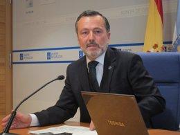 El conselleiro de Medio Ambiente, Agustín Hernández