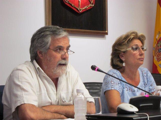 Enrique Miranda y Blanca Vázquez.