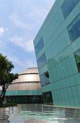 Imagen del edificio diseñado para Pemex por Escario Arquitectos