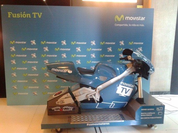 Movistar TV convoca un campeonato nacional del videojuego MotoGP14