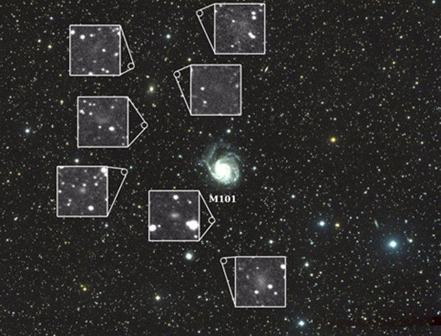 Nuevas galaxias
