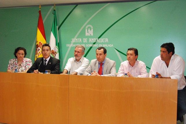 Presentación trabajos memoria histórica Estepona y Colmenar