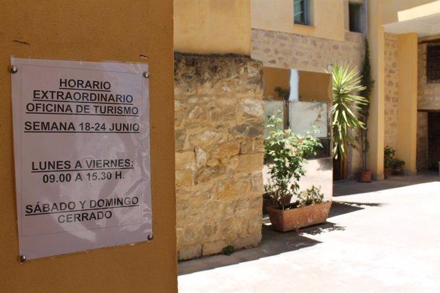El alcalde de beda rechaza el convenio de la junta para for Oficina turismo cordoba