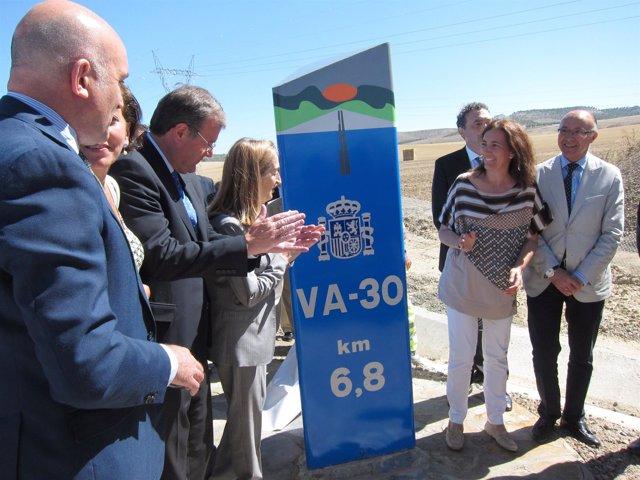 Inauguración de la VA-30