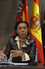 Foto: Lola Johnson declara este miércoles como imputada por presuntas irregularidades en contratos de RTVV