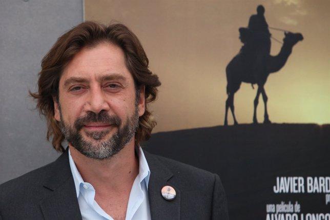 El actor Javier Bardem