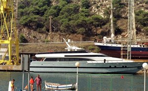 Foto: El yate Fortuna, rebautizado como Foners, vendido por 2,2 millones a Balearia (EUROPAPRESS)