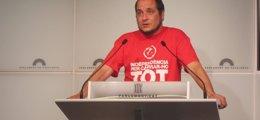 """Foto: La CUP pide a Mas consensuar una """"desobediencia"""" si el TC tumba la ley de consultas (EUROPA PRESS)"""