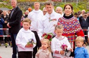 Foto: La familia real Danesa se embarca en una aventura por Groenlandia (ACTION PRESS )