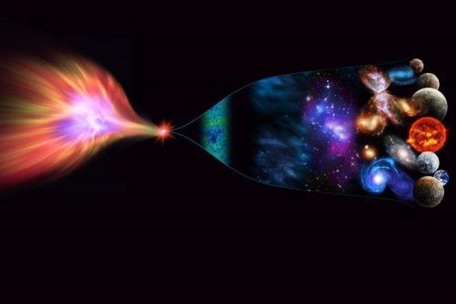 El universo surgió de un agujero negro