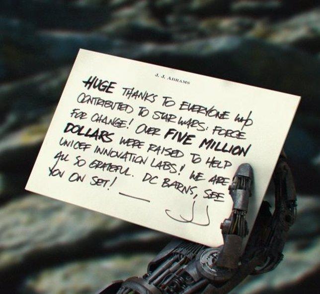 Campaña de Star Wars y UNICEF
