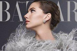 Foto: Como su abuela, la nieta de Audrey Hepburn posa para Harper's Bazaar (HARPER'S BAZAAR)