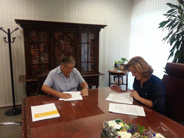 El ayuntamiento renueva su convenio de euros con - Comedor social de triana ...