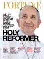 Foto: El Papa, portada de la revista 'Fortune' bajo el título del 'Santo reformador'