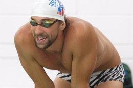"Foto: Phelps confía en corregir sus ""errores infantiles"" (USA TODAY SPORTS / REUTERS)"
