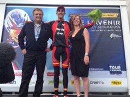 Foto: El Movistar Team ficha a Rubén Fernández, ganador del Tour del Porvenir (MOVISTAR)