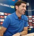 """Foto: Marcelino: """"El Villarreal parte como favorito"""" (VILLARREAL CF)"""