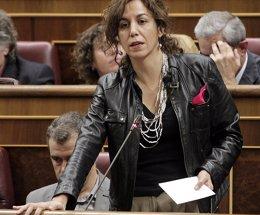 """Foto: Irene Lozano (UPyD) advierte a Sosa Wagner de que va a resultar difícil que alguien le iguale en """"mezquindad"""" (EUROPA PRESS)"""