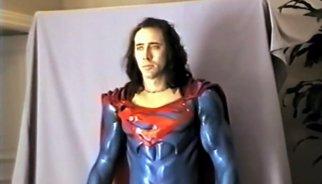 """Nuevo tráiler del """"odioso"""" Superman de Nicolas Cage y Tim Burton"""