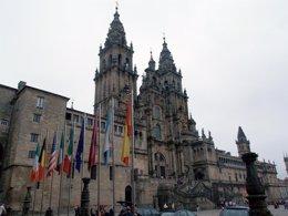 Foto: Os hoteis en Santiago rexistraron en xullo unha ocupación media do 61,7% (EUROPA PRESS)
