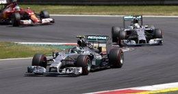 Foto: (Previa) Hamilton y Rosberg reanudan su lucha por el Mundial en Spa (REUTERS)