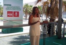 """Foto: Susana Díaz exige """"consenso"""" para reformar la elección de alcaldes y avisa de que no se puede hacer """"a mitad de partido"""" (EUROPA PRESS)"""