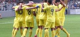 Foto: El Villarreal se saca el billete en Astana (HTTP://WWW.VILLARREALCF.ES/)