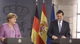 Foto: Rajoy y Merkel recorrerán el domingo un tramo de seis kilómetros del Camino de Santiago antes de su reunión del lunes (EUROPA PRESS)