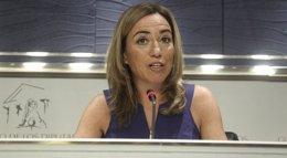 """Foto: Chacón anima al PP a mandar """"a su casa"""" a De la Riva tras sus palabras sobre coincidir con mujeres en ascensores (EUROPA PRESS)"""