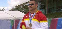 Foto: El español David Casinos no falla a su cita con el oro en Swansea (HTTP://WWW.PARALIMPICOS.ES/)