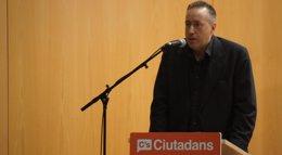 """Foto: Girauta (C's) afirma que si hubiesen ido a las europeas con UPyD """"el fenómeno"""" habría sido su coalición y no Podemos (EUROPA PRESS)"""