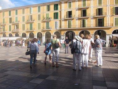 Foto: Baleares recibió 6,2 millones de turistas internacionales hasta julio, un 0,8% más (EUROPA PRESS)